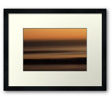 Sun-Up Framed Print