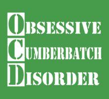 Obsessive Cumberbatch Disorder Sherlock Holmes Kids Clothes