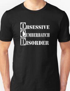 Obsessive Cumberbatch Disorder Sherlock Holmes Unisex T-Shirt