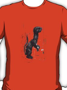 Giant Ferret by ROA T-Shirt