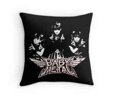Evil Super Girls Throw Pillow