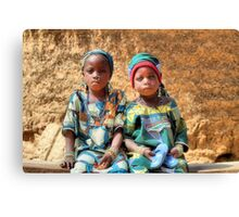 Sisters. Louise & Alma.  Canvas Print