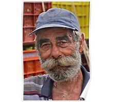 Faces of Greece . Vineyard farmer  portrait from  Kriti . Greece .. by Brown Sugar . F* Favorites: 1 Views: 538 .  Thank you dear friends !!! Poster