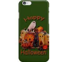 Halloween Collage Tee iPhone Case/Skin