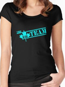 The Eh Team Funny Canada Women's Fitted Scoop T-Shirt