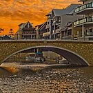 Canal Bridge Mandurah by Peter Rattigan