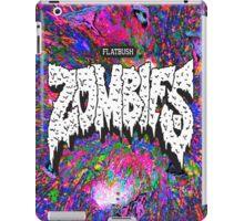 FBZ purple splatter background iPad Case/Skin
