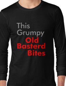 This Grumpy Old Man Bites Long Sleeve T-Shirt