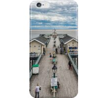 Looking Down The Pier 1 iPhone Case/Skin