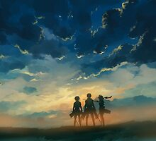 Attack on Titan / Freedom by banafria