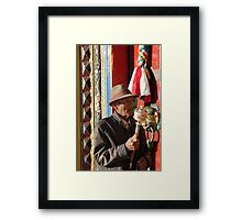Faces of China - 4 Framed Print