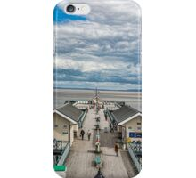 Looking Down The Pier 3 iPhone Case/Skin