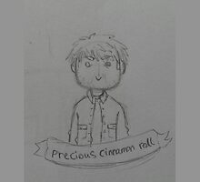 Precious Cinnamon Roll - Kevin Banner Sketch by crowleyspoppet