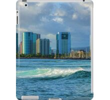 Honolulu Turquoise - Impressions of Hawaii iPad Case/Skin