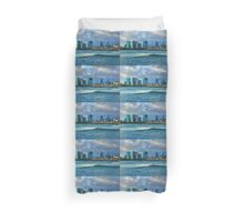 Honolulu Turquoise - Impressions of Hawaii Duvet Cover