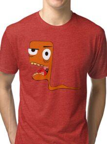 Crazy worm Tri-blend T-Shirt