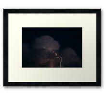 Evening Storm Framed Print