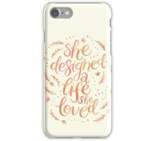 A Life I Love iPhone Case/Skin