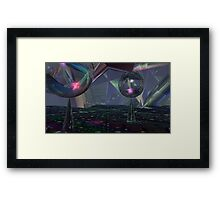 Reflecting On Tessellations Framed Print