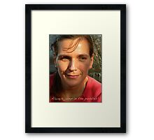 A Celebration of Her Inner Child Framed Print