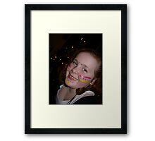 """the """"peace child """" Framed Print"""