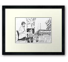 Seam master Framed Print