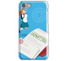 School Admission Letter iPhone Case/Skin