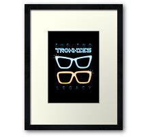 The Two Tronnies Framed Print