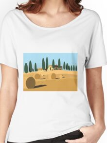 A trip to Tuscany Women's Relaxed Fit T-Shirt