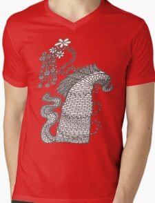 HECHIZO Mens V-Neck T-Shirt
