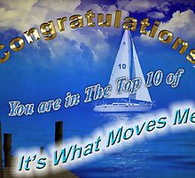 It's What Moves Me Banner top 10 winner by imagetj