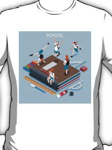 School Chancellery Set T-Shirt