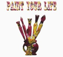T-Shirt- 66 - PAINT YOUR LIFE by haya1812