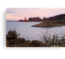 Sunset, Rutland Water. Canvas Print