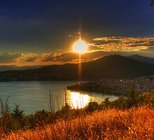 Sunset time... by Tania Koleska