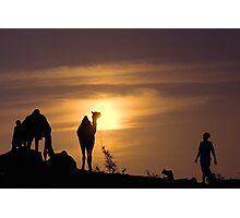 Pushkar Sunset Photographic Print