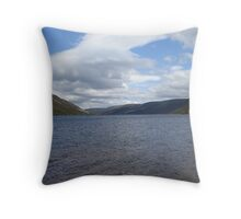 Loch Muick, Scotland Throw Pillow