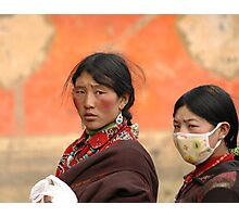 Tibetan people Photographic Print