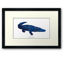 The Crocodile Framed Print