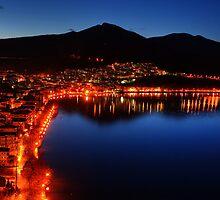 Kastoria by Night...::[HDR] by Tania Koleska