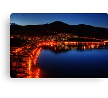 Kastoria by Night...::[HDR] Canvas Print
