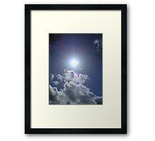 Sun high in the Sky Framed Print