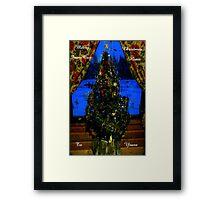Our Little Christmas Tree Framed Print