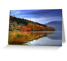 Automn Colors.... Greeting Card