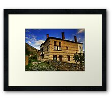 Old House in Kastoria... Framed Print
