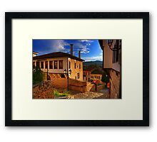 "Old house in Old Kastoria...""Ntoltso"" Framed Print"