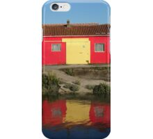 Colourful oyster huts iPhone Case/Skin