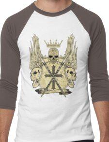 Dead Heraldry Men's Baseball ¾ T-Shirt