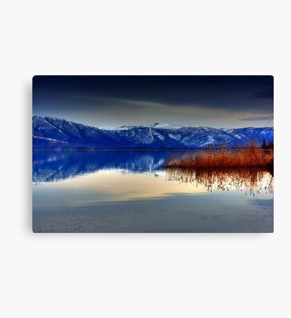 Soft Water.... Canvas Print
