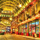 Where is Diagon Alley? - Leadenhall Market Series - London - HDR by Colin J Williams Photography